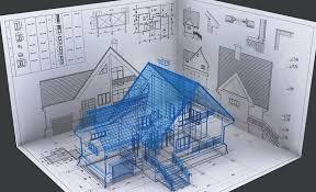 Projeto de construção em 3d