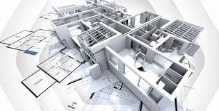 Projeto de construção civil em 3d